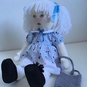 'Ally' Fabric Doll